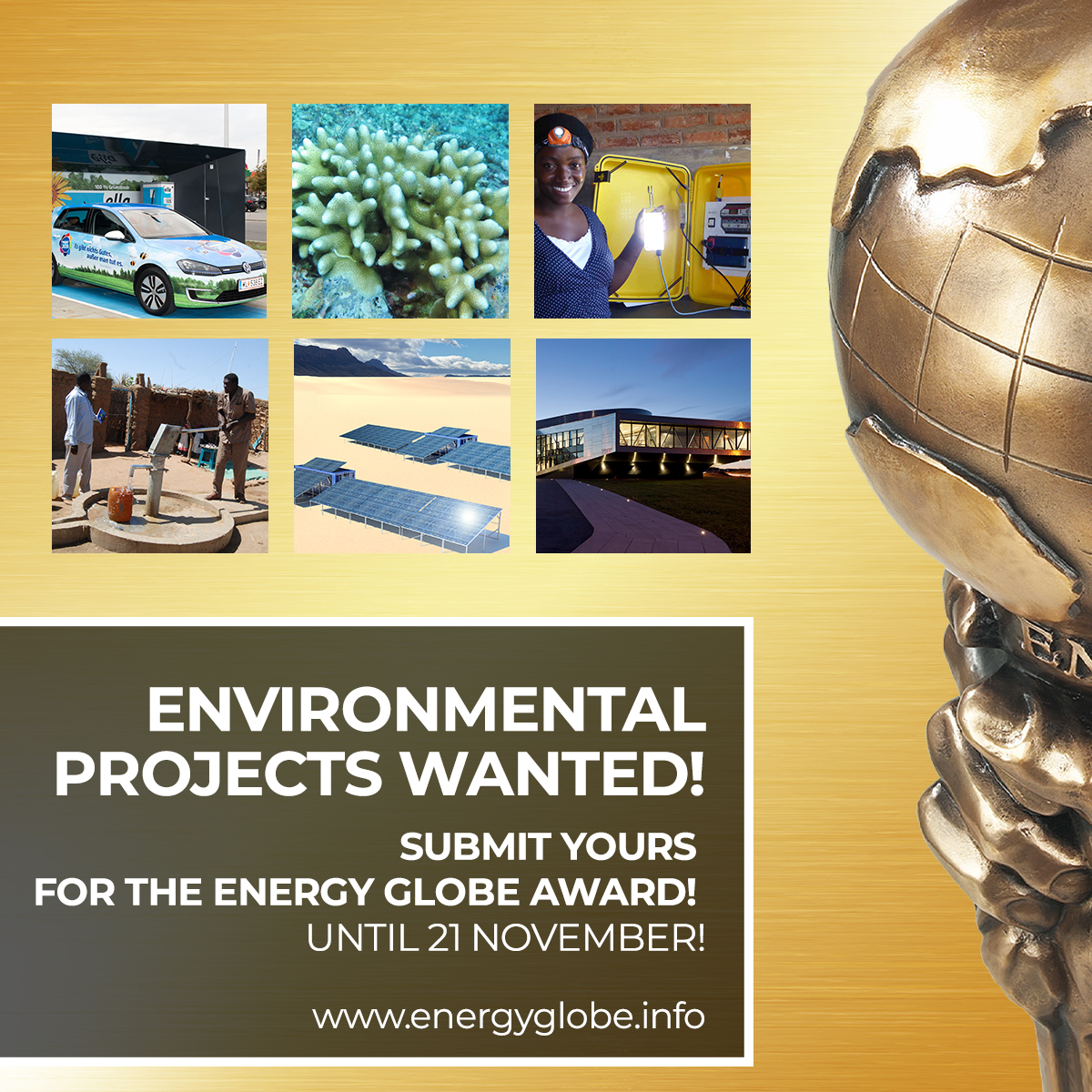 Submission EnergyGlobe2020 SocialMedia
