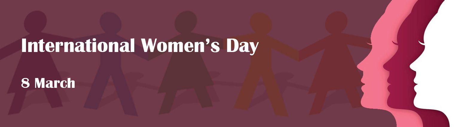 web banner int women day