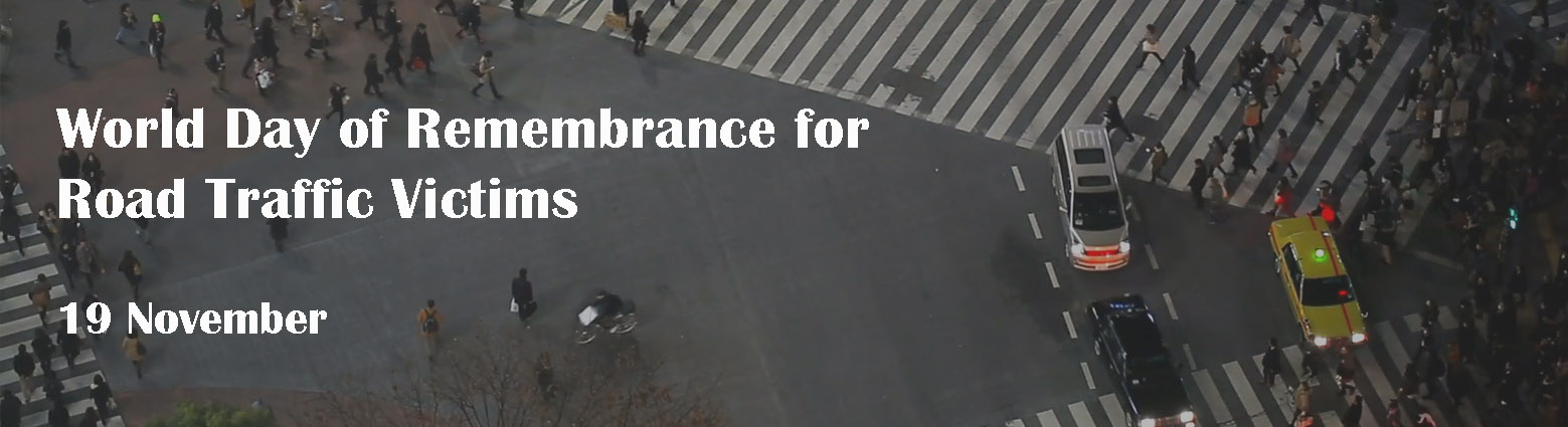 web banner remembrance day road traffic victims
