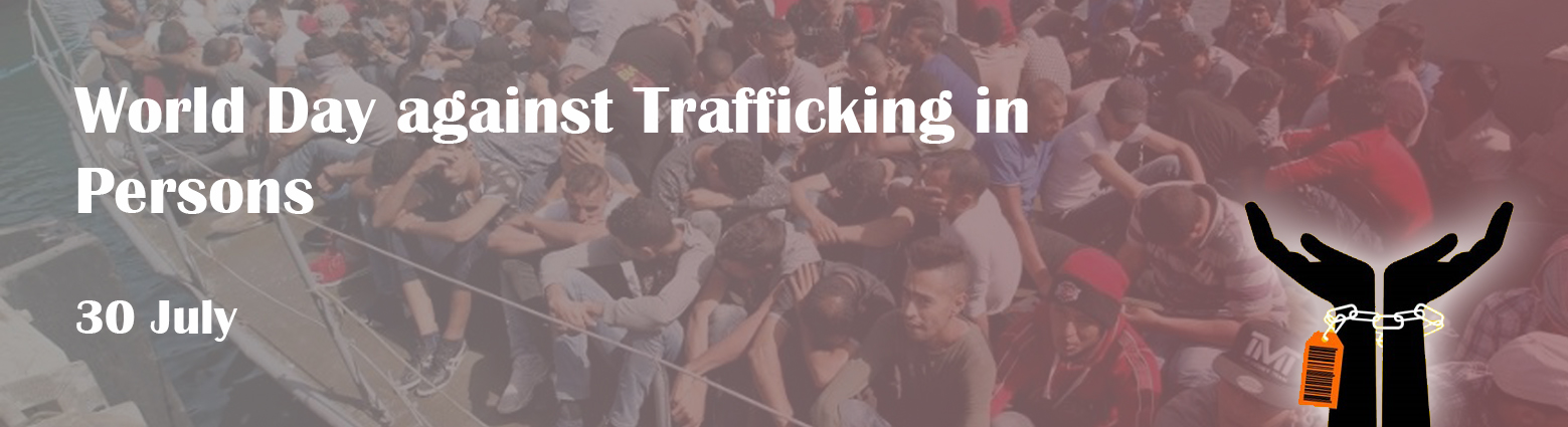 web banner world day against trafficking in person