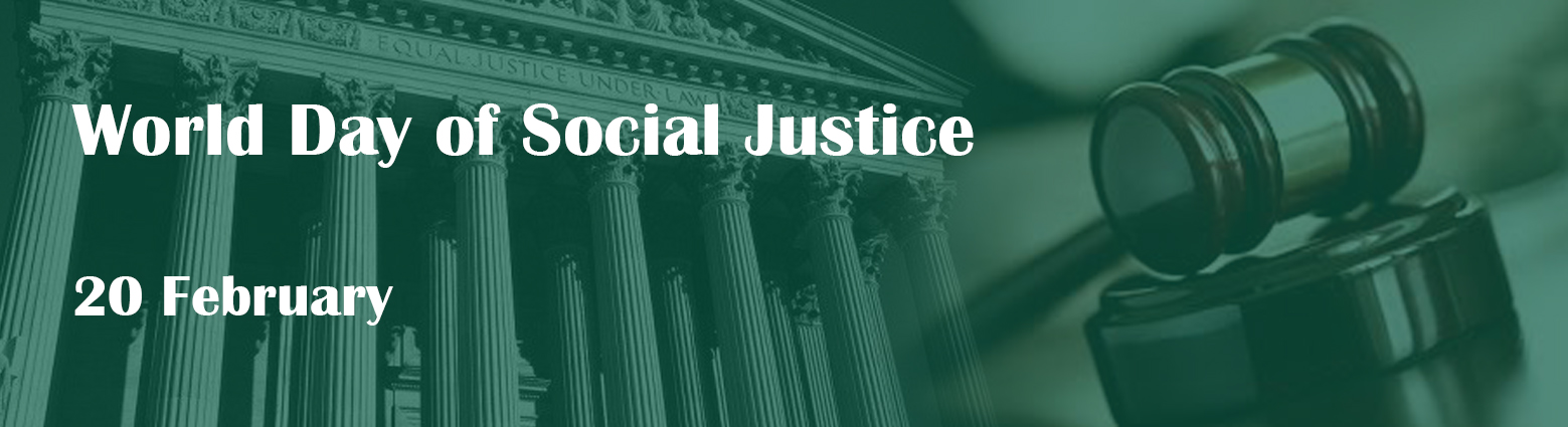 web banner world day social justice