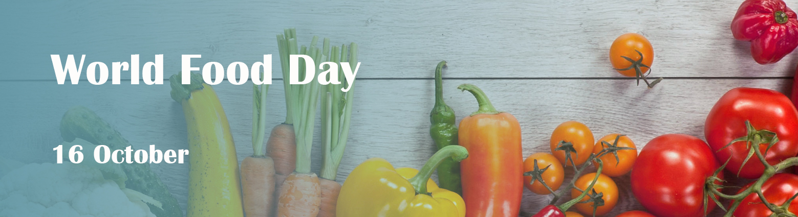 web banner world food day