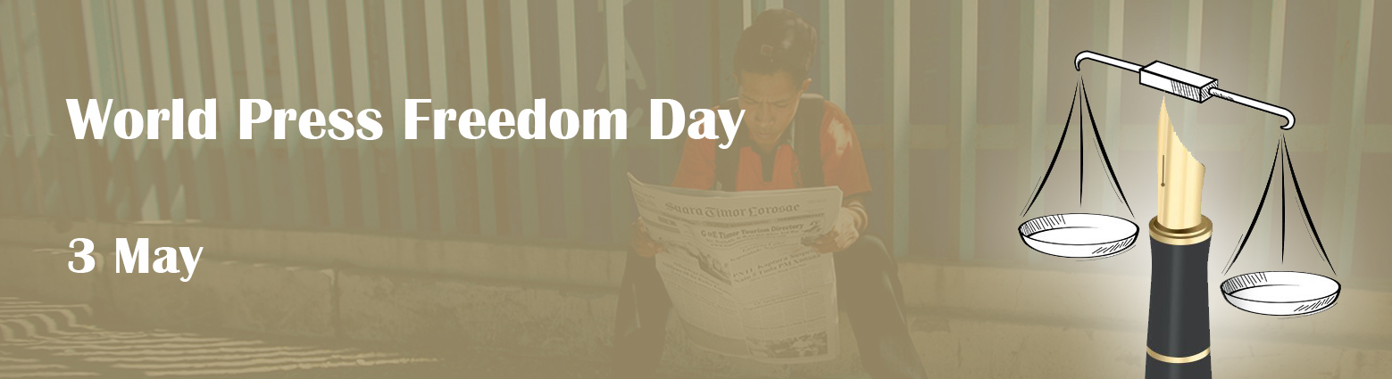 web banner world press freedom day