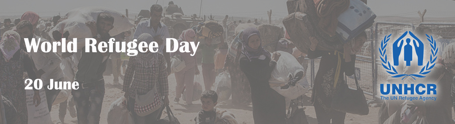 web banner world refugee day