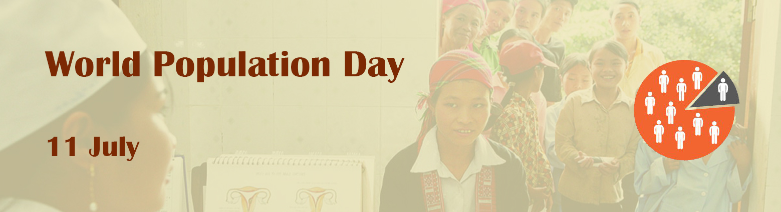 web banner world population day