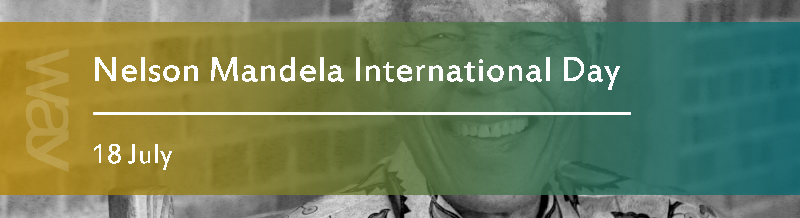 web banners Nelson Mandela int day