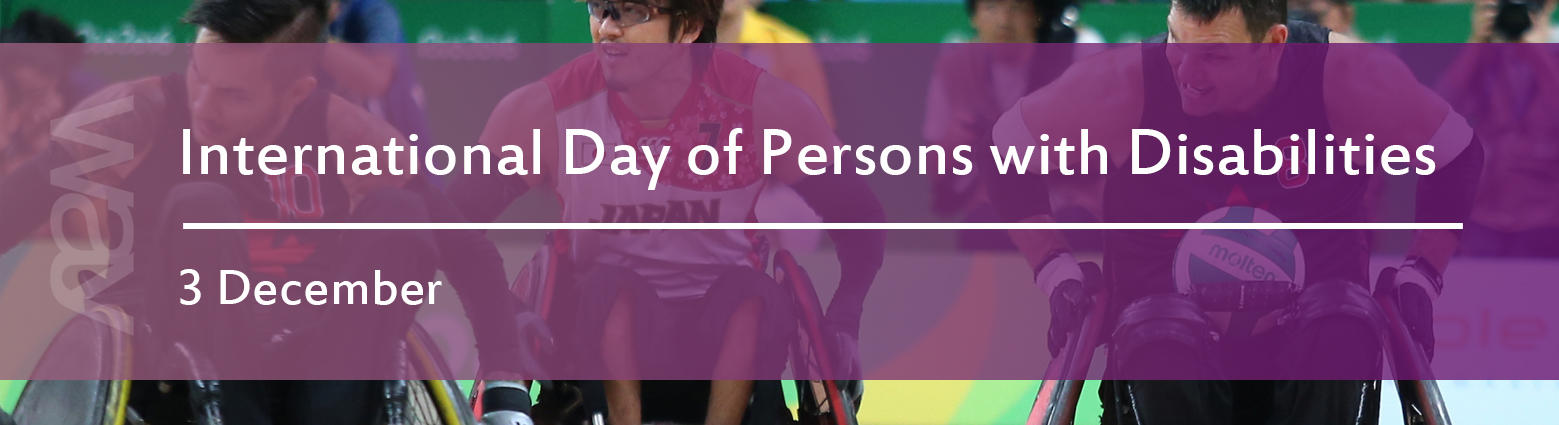 web banners int d persons disabilities