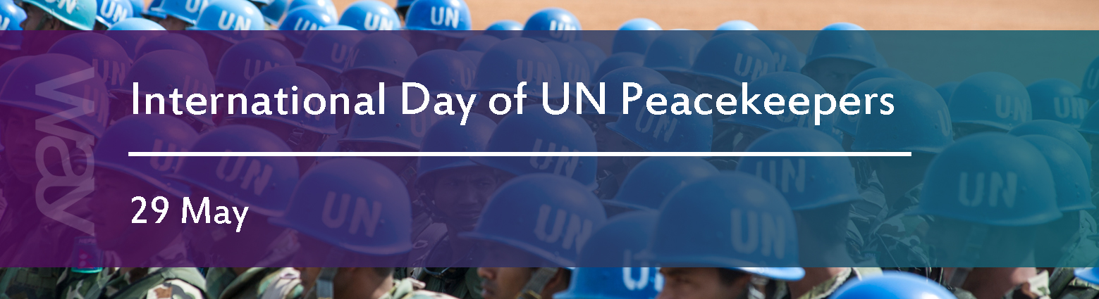 web banners int day un peacekeepers
