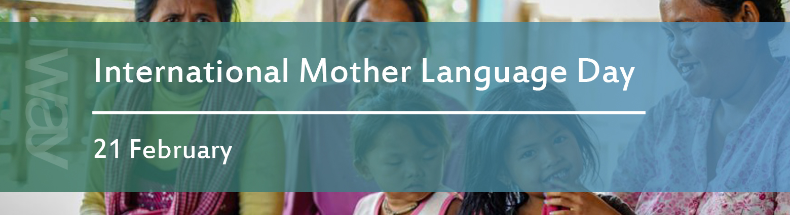web banners int mother language day
