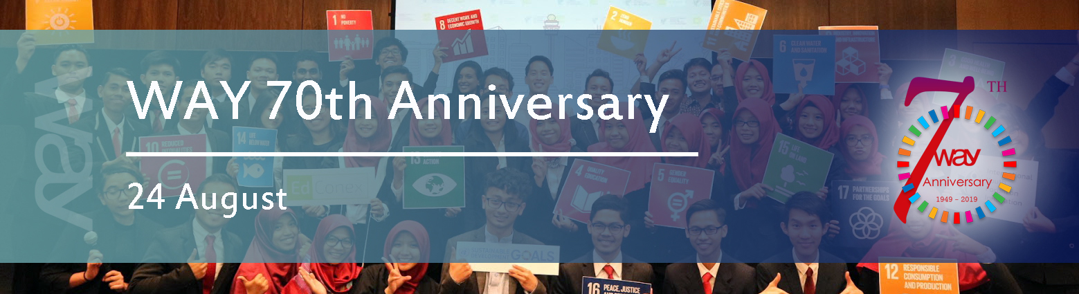 web banners way 70th anniversary
