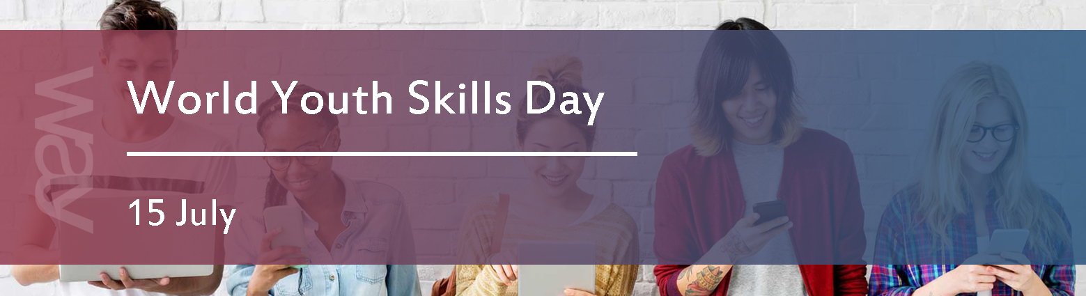 web banners world youth skills day