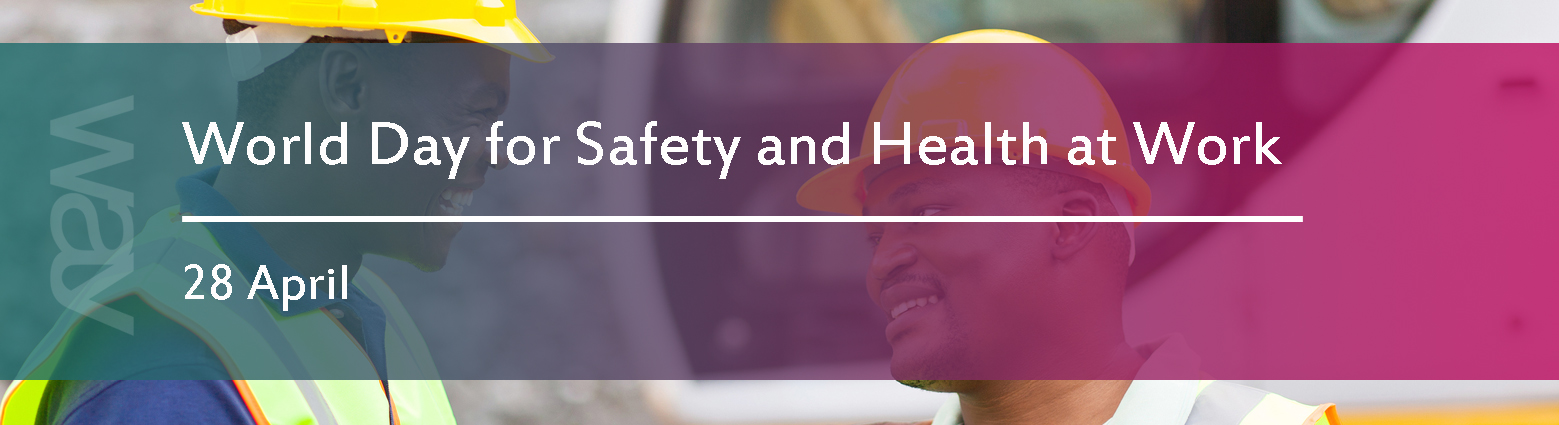 web banners world day safety health work